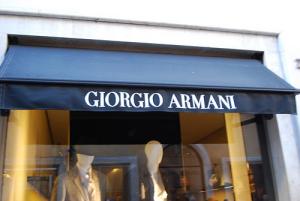 Armani - shopping i Roma