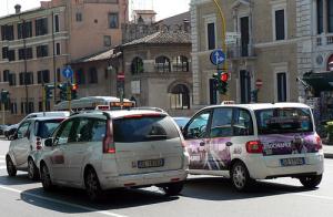 Taxi i Roma